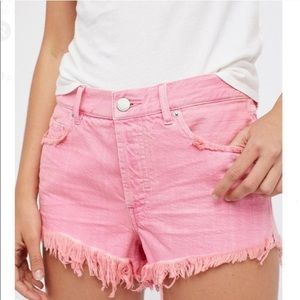 Free People 🌸 Soft and Relaxed Cut Off Shorts